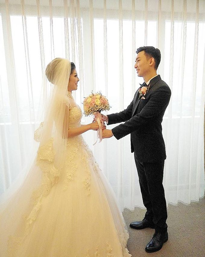 Wedding of Andree & Ferlin by Adel's House of card - 010