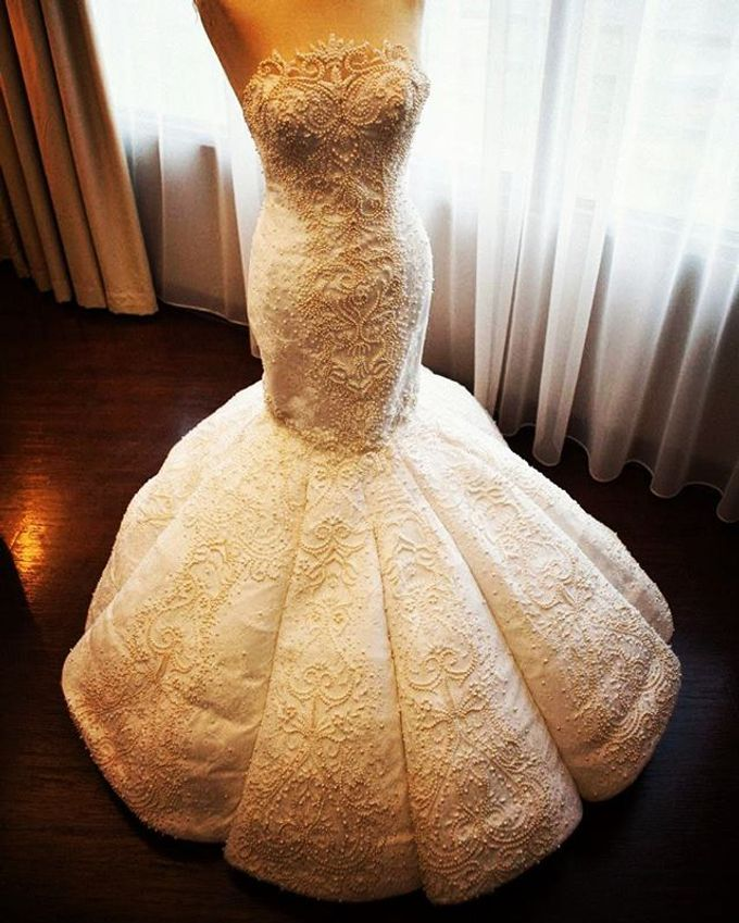 The wedding of Mr. DIckson and Ms. Vica by Tracy Bridal House - 002
