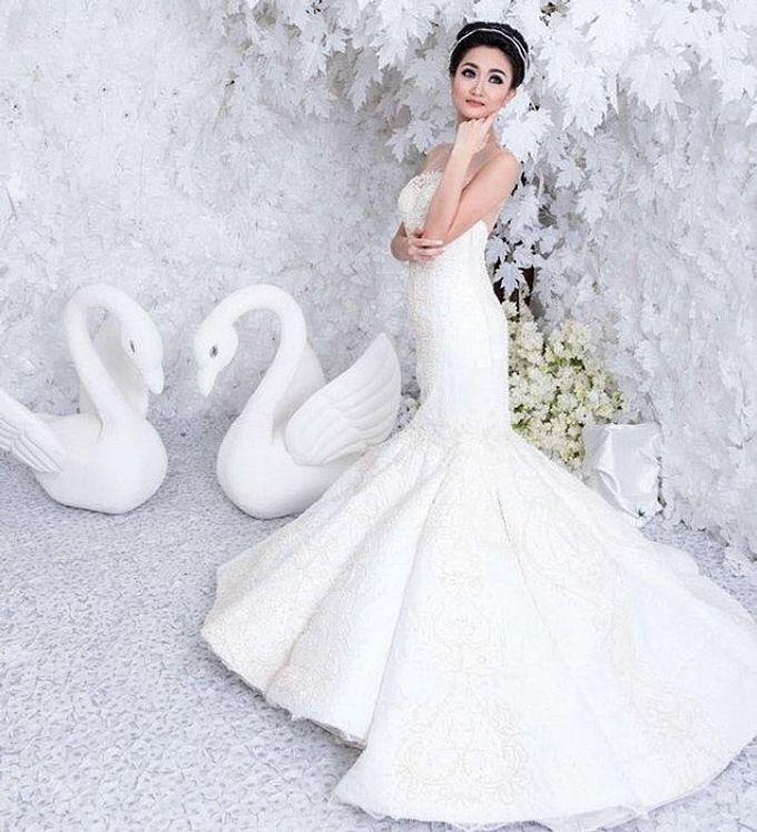 The wedding of Mr. DIckson and Ms. Vica by Tracy Bridal House - 004
