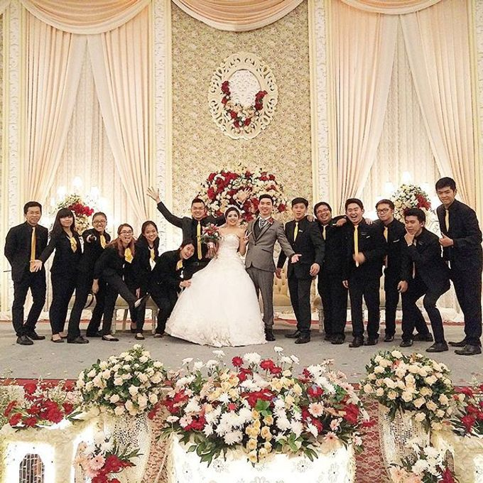 Wedding of Andree & Ferlin by Adel's House of card - 001
