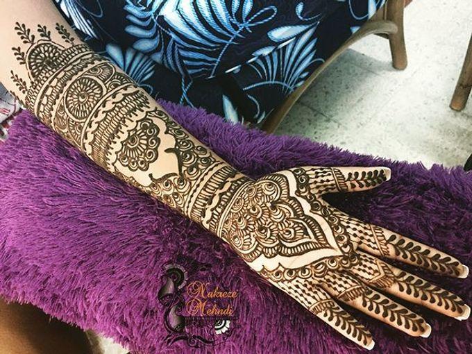 Bridal Henna - Intricate by Nakreze Mehndi - 010