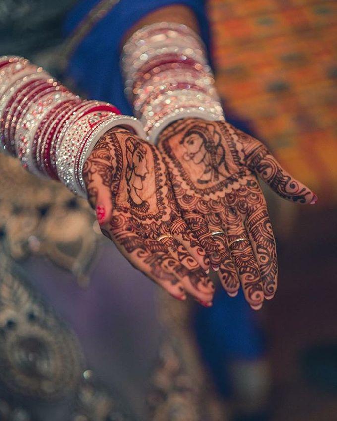 Bridal Henna - Intricate by Nakreze Mehndi - 012