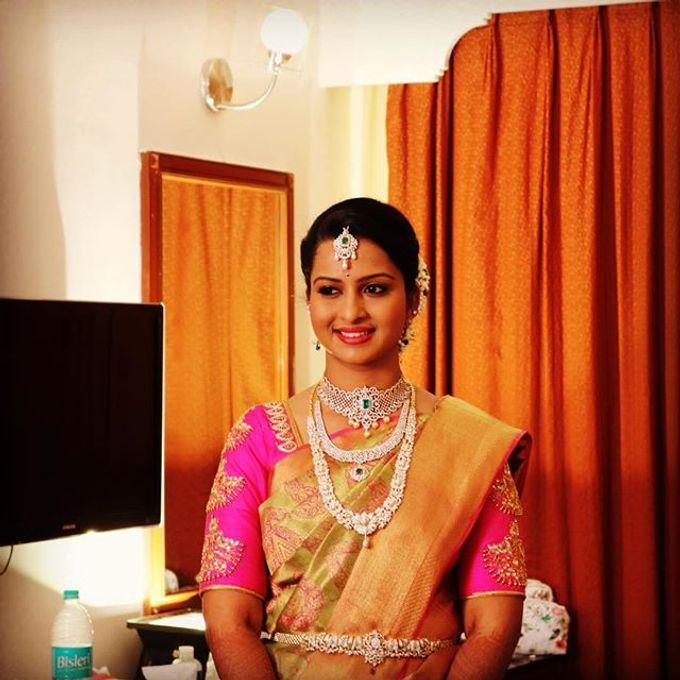 Wedding Bridal Makeup Coimbatore by Raj Bridal Makeup - 002