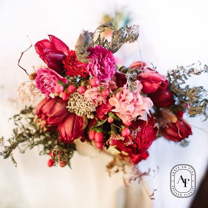 Bride Bouquet by Angie Fior - 015