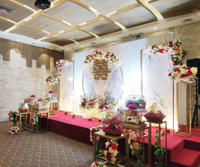 Sangjit of Septian & Agustina by Calysta Sangjit Decoration - 009