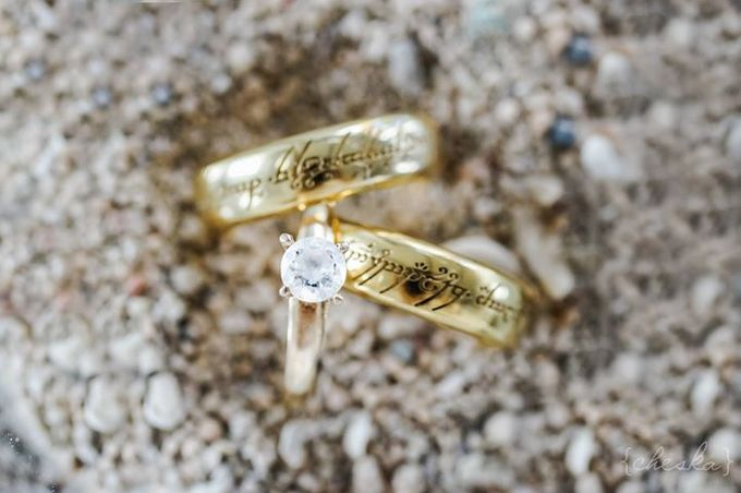 Wedding Rings by Peach Frost Studio - 009