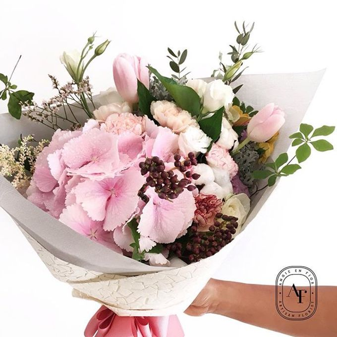 Hand Bouquet - 1 by Angie Fior - 020