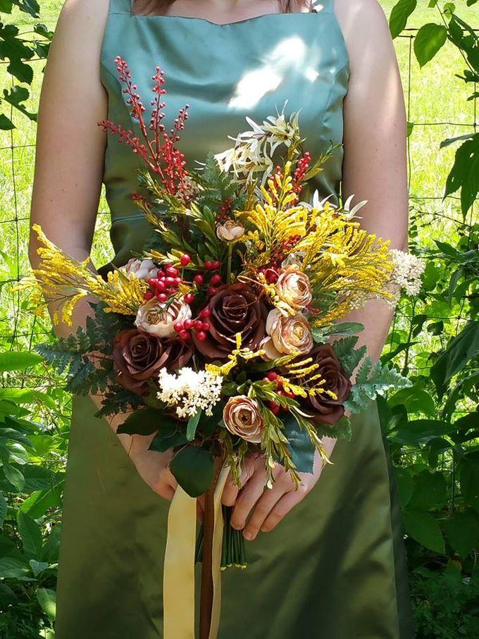 Bridal Bouquet by Reba Jo's Shoppe - 005