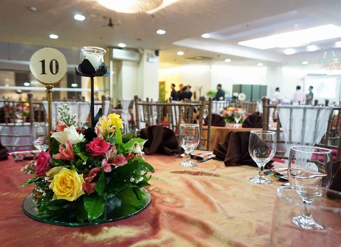Add To Board Wedding Venue Set Up By GREENHILLS ELAN HOTEL MODERN