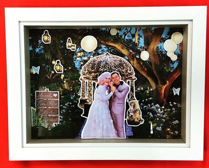 Wedding Pop Up Frame By Diva Art Co Bridestory