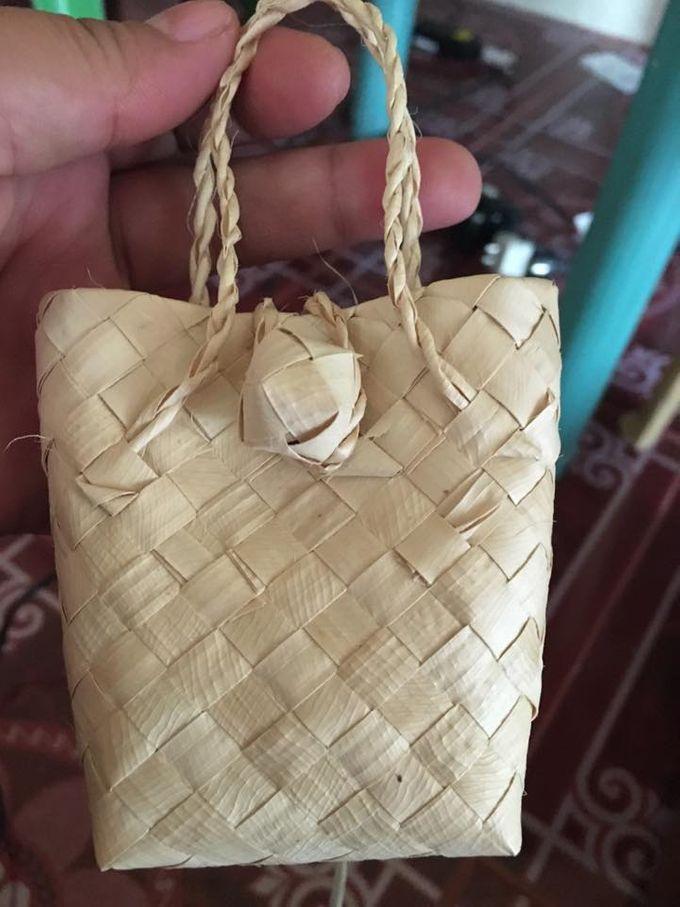 Mini Buri Palm leaf Gift Bags by Miss Marian Native Crafts - 004