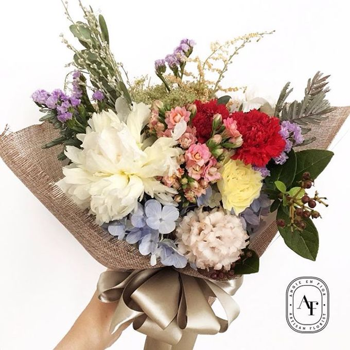 Hand Bouquet - 1 by Angie Fior - 016