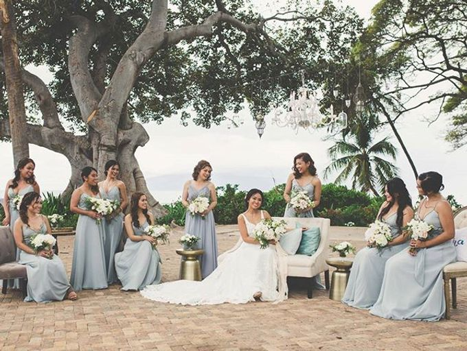 Customized Bridesmaids Dresses by White Label Bridal - 015