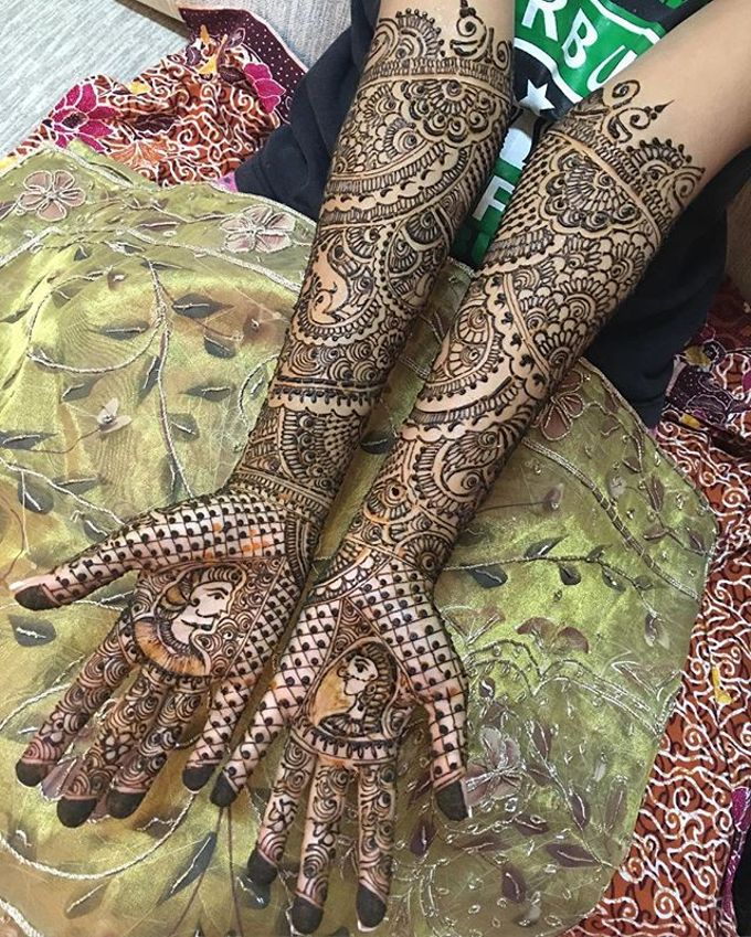 Bridal Henna - Intricate by Nakreze Mehndi - 011