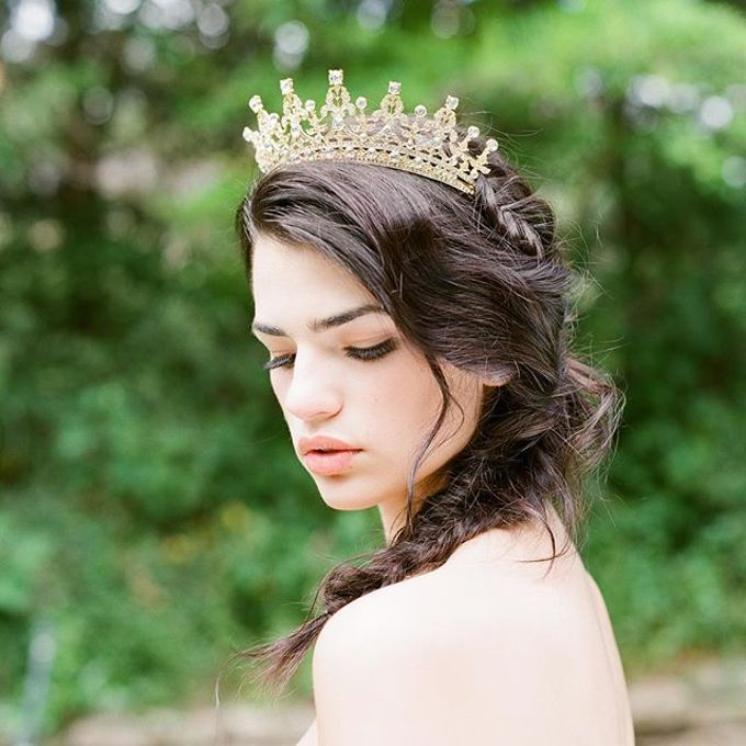 More Crowns Tiaras and Headpieces by Eden Luxe Bridal - 046