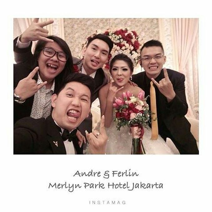 Wedding of Andree & Ferlin by Adel's House of card - 002