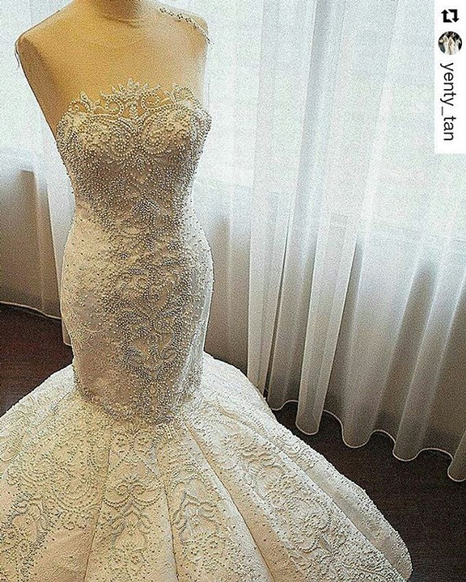 The wedding of Mr. DIckson and Ms. Vica by Tracy Bridal House - 001