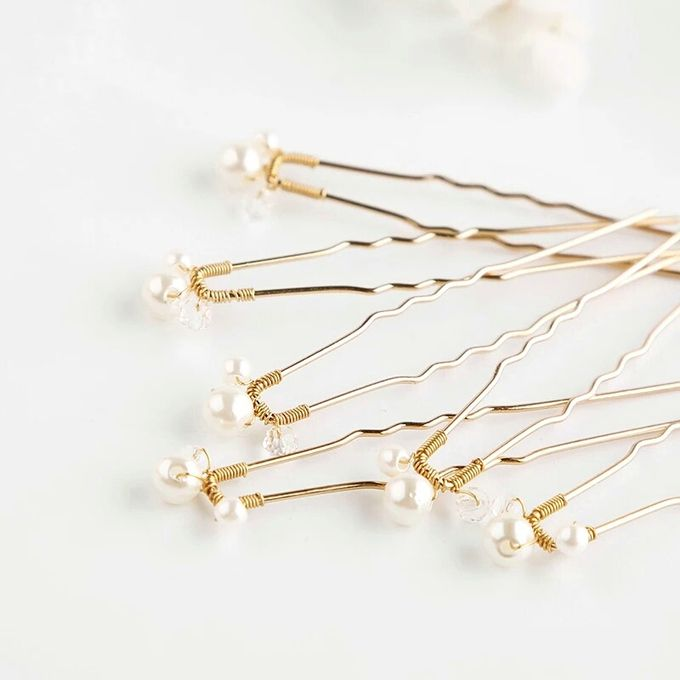 Pearl Wedding Hair Pin by Fairytale Undercover - 002