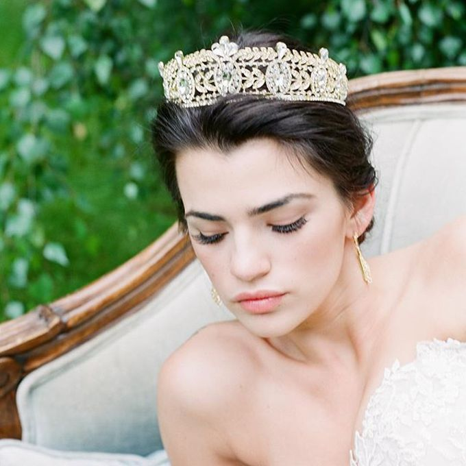 More Crowns Tiaras and Headpieces by Eden Luxe Bridal - 050