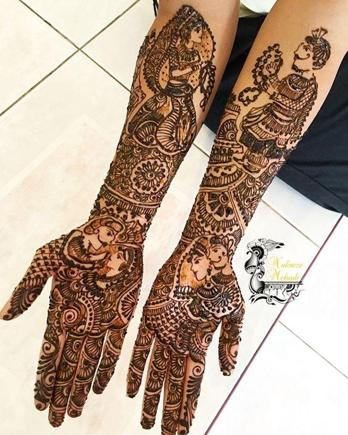 Bridal Henna - Intricate by Nakreze Mehndi - 008