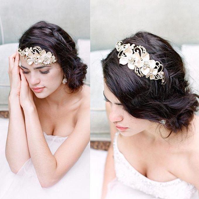 More Crowns Tiaras and Headpieces by Eden Luxe Bridal - 045