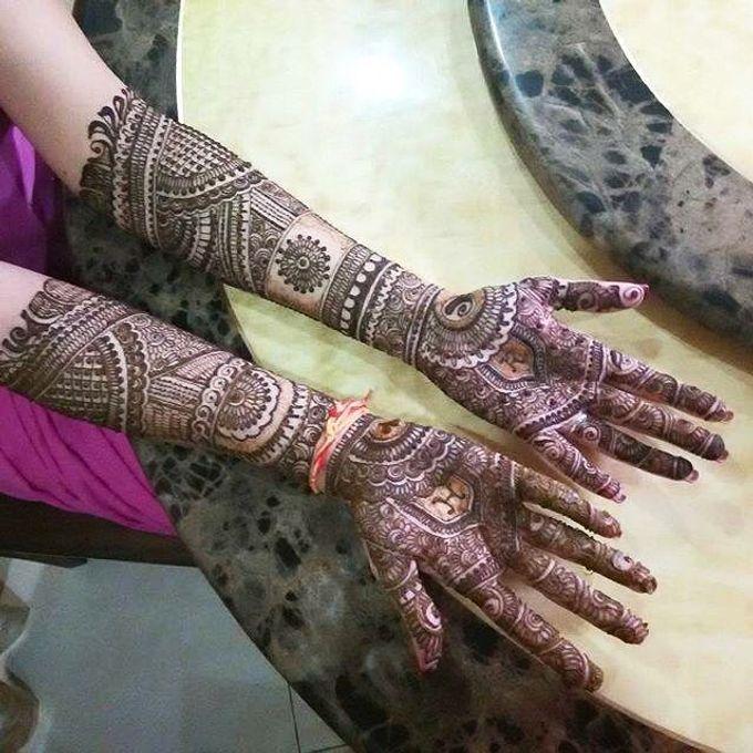 Bridal Henna - Intricate by Nakreze Mehndi - 009