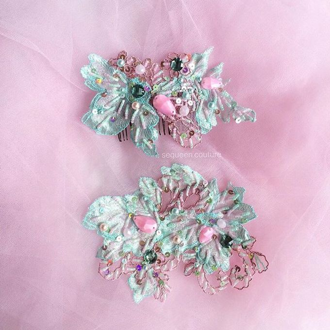 Headpieces for Holy Matrimony by Sequeen Couture - 004