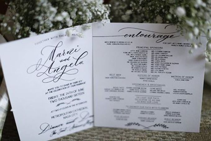 Calligraphy by We Do It For Love Photography - 001