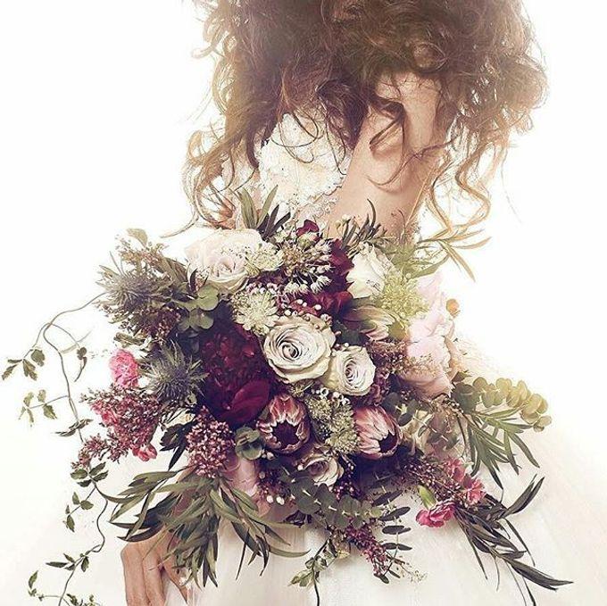 CHARME FAUX BOUQUET by LUX floral design - 029