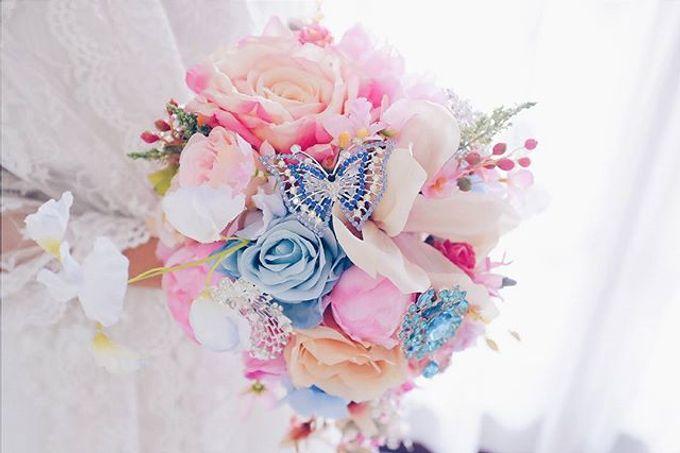 CHARME FAUX BOUQUET by LUX floral design - 028
