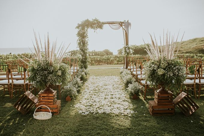 Bali Greenery Rustic with Boho Touch Wedding Decoration by Eurasia Wedding - 001