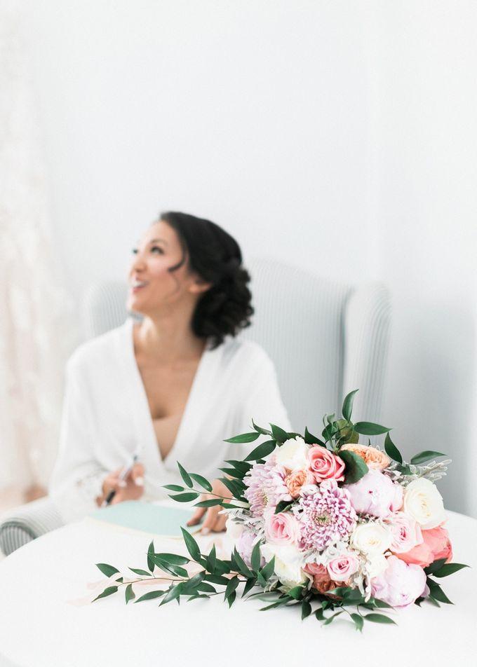 Dusty Pink Dream Wedding in Santorini by Stella & Moscha Weddings - 009