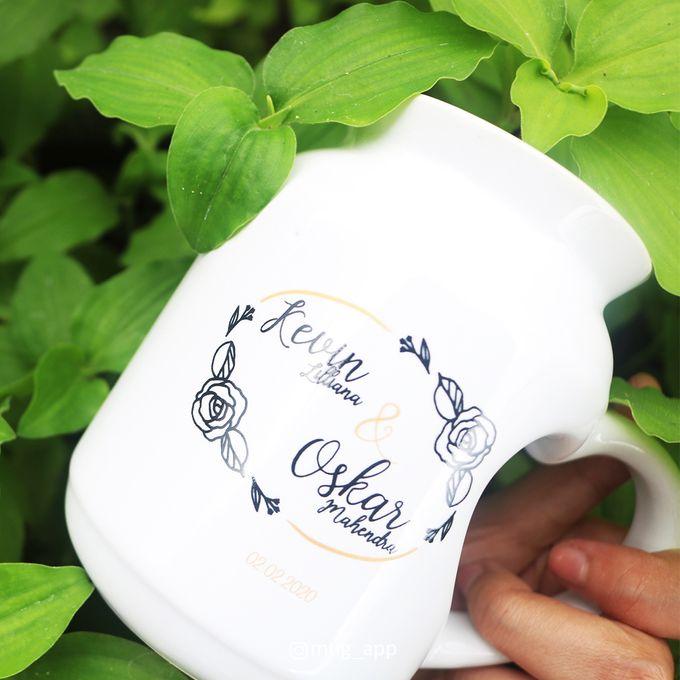 MUG MEME LOVE WEDDING KEVIN LILIANA & OSKAR MAHENDRA by Mug-App Wedding Souvenir - 004
