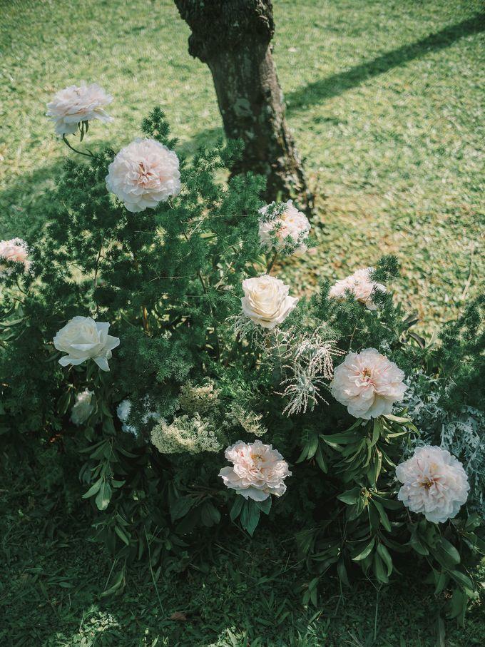 Pernikahan dengan tema ramah lingkungan, dengan keluarga dan teman dekat ditambah dengan dekorasi yang selaras dengan alam membuat pernikahan ini spec by AVAVI BALI WEDDINGS - 034