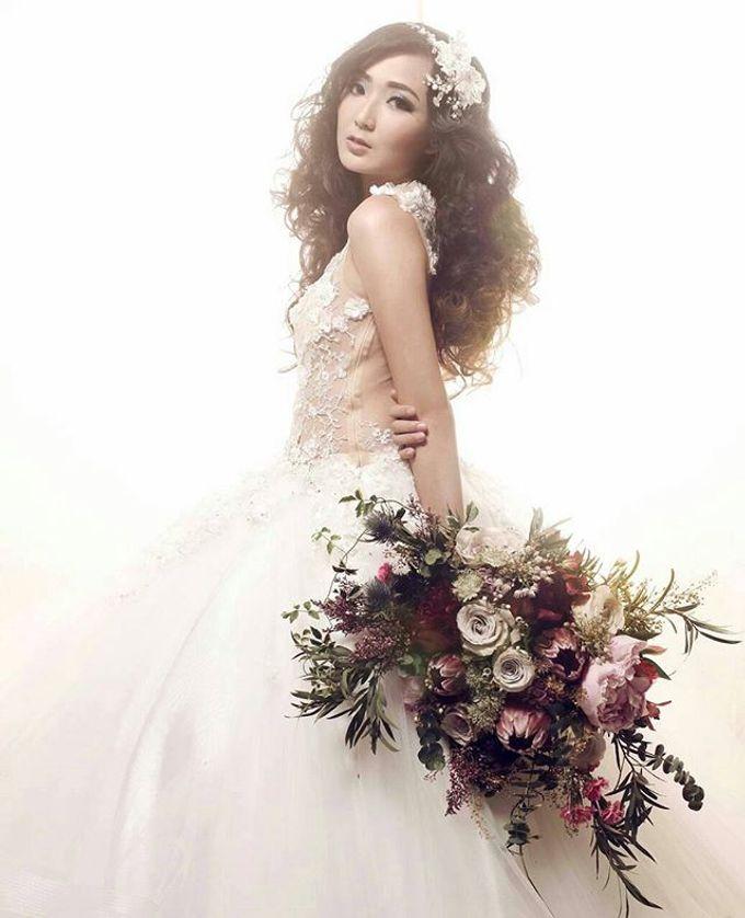 CHARME FAUX BOUQUET by LUX floral design - 030