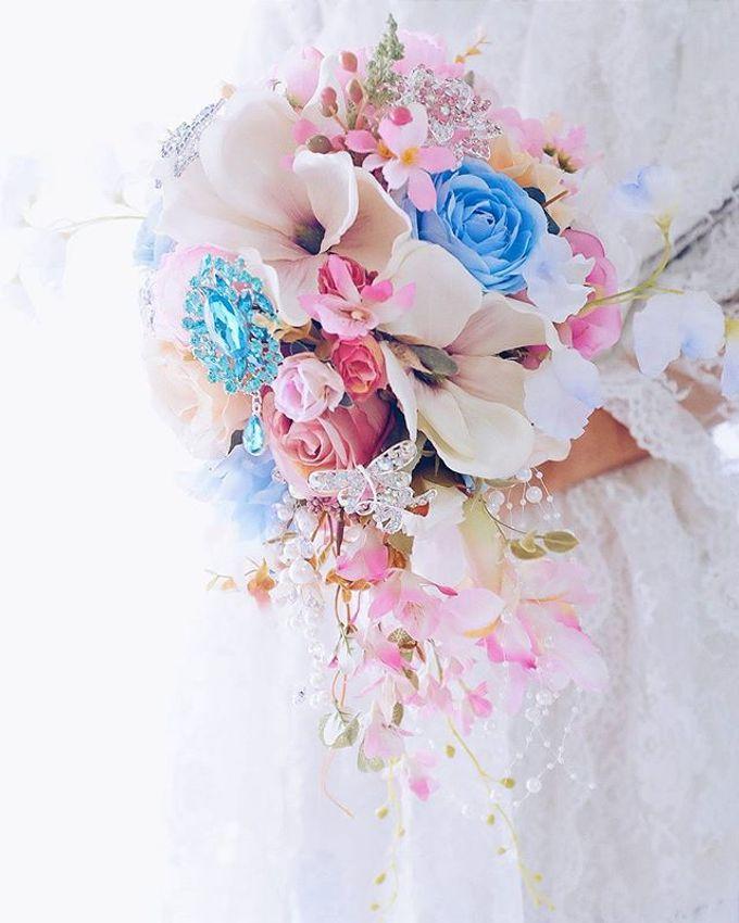 CHARME FAUX BOUQUET by LUX floral design - 026