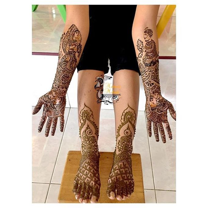 Bridal Henna - Intricate by Nakreze Mehndi - 007