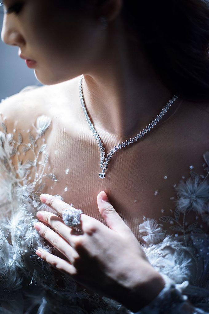 Winters Night Wedding Inspiration by Spellbound Weddings - 003