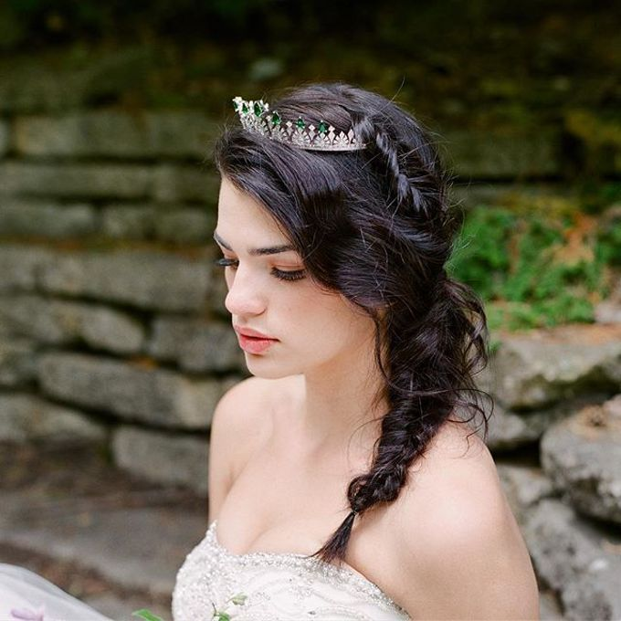 More Crowns Tiaras and Headpieces by Eden Luxe Bridal - 030