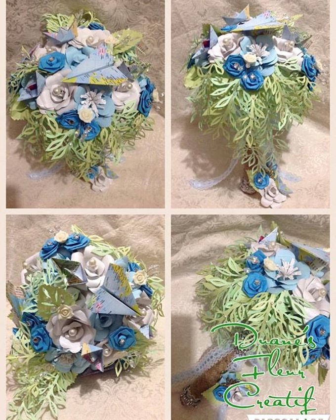 Handcrafted Bouquets and Wedding Accessories  by Duane's Fleur Creatif - 031