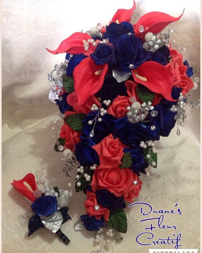 Handcrafted Bouquets and Wedding Accessories  by Duane's Fleur Creatif - 030