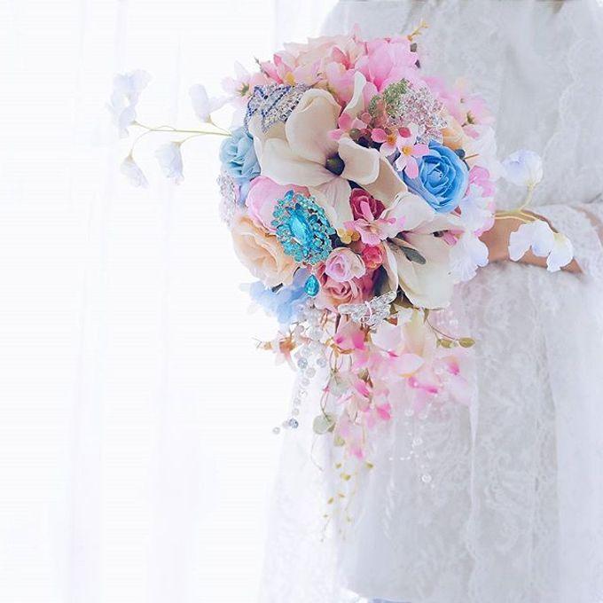 CHARME FAUX BOUQUET by LUX floral design - 027