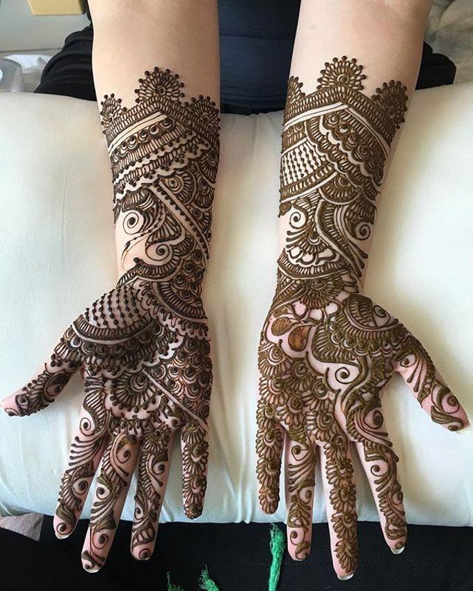 Bridal Henna - Arabic by Nakreze Mehndi - 001