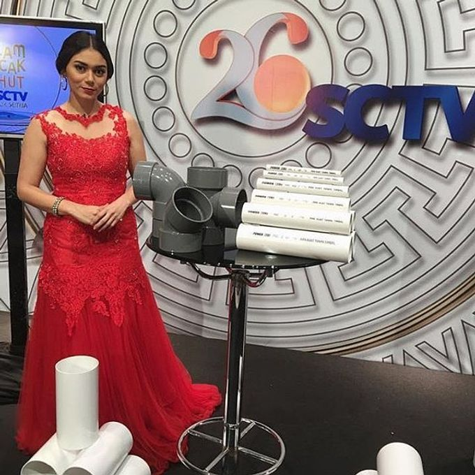 TV and Media appearance for our gowns by SAVORENT Gown Rental - 004