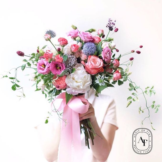 Bride Bouquet by Angie Fior - 012