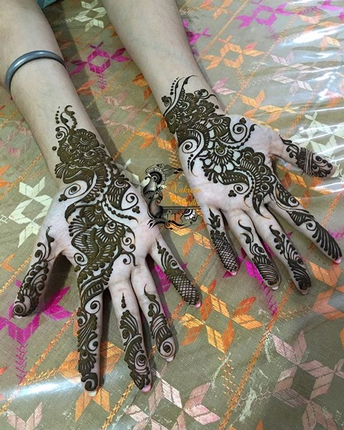 Bridal Henna - Arabic by Nakreze Mehndi - 003