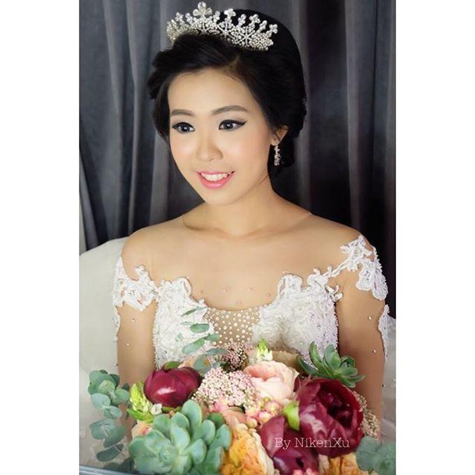 Wedding Makeup ,Mom ,Sister by Niken Xu Makeup Artist - 014
