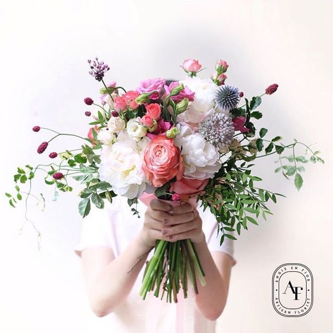 Bride Bouquet by Angie Fior - 010
