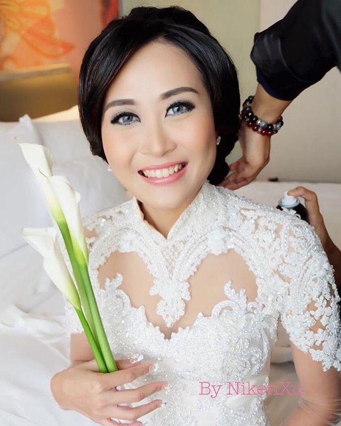 Wedding Makeup ,Mom ,Sister by Niken Xu Makeup Artist - 016