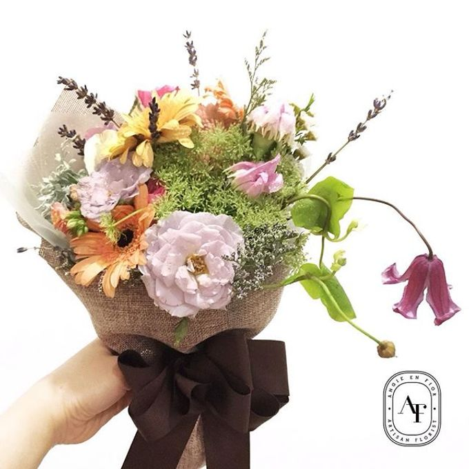 Hand Bouquet - 1 by Angie Fior - 012